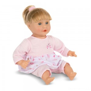 Melissa & Doug Mine to Love Natalie 12-Inch Soft Body Baby Doll With Hair and Outfit