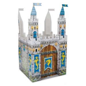 [BLACK FRIDAY] Melissa & Doug Medieval Castle Indoor Playhouse