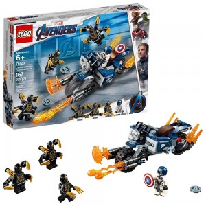 [BLACK FRIDAY] LEGO Super Heroes Marvel Avengers Movie 4 Captain America: Outriders Attack 76123