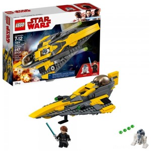 LEGO Star Wars Anakin's Jedi Starfighter 75214 [Sale]