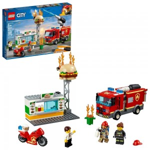 LEGO City Burger Bar Fire Rescue 60214 [Sale]