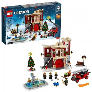 [BLACK FRIDAY] LEGO Creator Winter Village Fire Station 10263