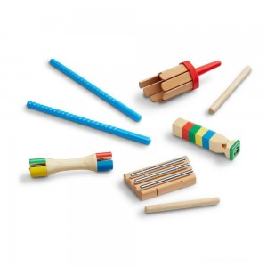 [BLACK FRIDAY] Melissa & Doug Band-in-a-Box Chime! Whistle! Jingle!