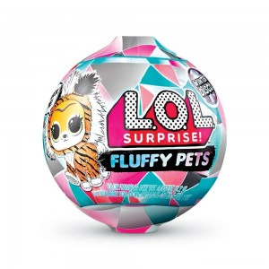 [BLACK FRIDAY] L.O.L. Surprise! Fluffy Pets Winter Disco Series with Removable Fur