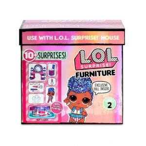 [BLACK FRIDAY] L.O.L. Surprise! Furniture Backstage with Independent Queen & 10+ Surprises