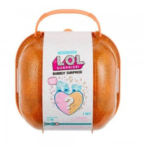 [BLACK FRIDAY] L.O.L. Surprise! Bubbly Surprise with Exclusive Doll and Pet - Orange