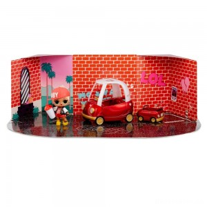 L.O.L. Surprise! Furniture with Cozy Coupe & M.C. Swag [Sale]