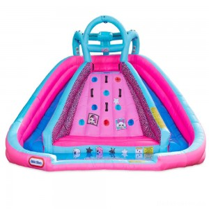 [BLACK FRIDAY] L.O.L. Surprise! Inflatable River Race Water Slide with Blower, Kids Unisex