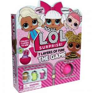L.O.L. Surprise! 7 Layers of Fun Game, Kids Unisex [Sale]