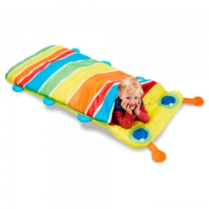 [BLACK FRIDAY] Melissa & Doug Sunny Patch Giddy Buggy Sleeping Bag With Matching Storage Bag