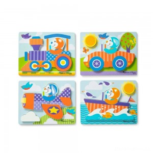 [BLACK FRIDAY] Melissa & Doug First Play 6pc Jigsaw Puzzle Set Vehicles