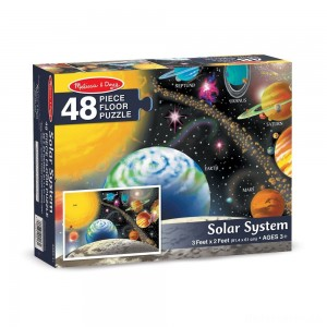 [BLACK FRIDAY] Melissa And Doug Solar System Floor Puzzle 48pc