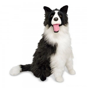 [BLACK FRIDAY] Melissa & Doug 2' Giant Border Collie
