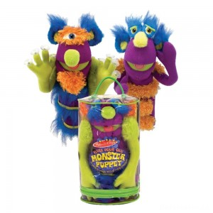 [BLACK FRIDAY] Melissa & Doug Make-Your-Own Fuzzy Monster Puppet Kit With Carrying Case (30pc)