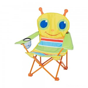 Melissa & Doug Sunny Patch Giddy Buggy Folding Lawn and Camping Chair