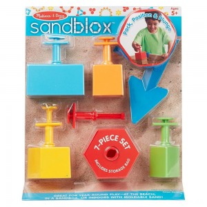 [BLACK FRIDAY] Melissa & Doug Sandblox Sand Shape-and-Mold Tool Set