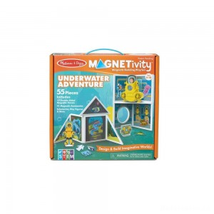 [BLACK FRIDAY] Melissa & Doug Magnetivity - Underwater Adventure Set