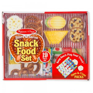 [BLACK FRIDAY] Melissa & Doug Store & Serve Snack Food Set