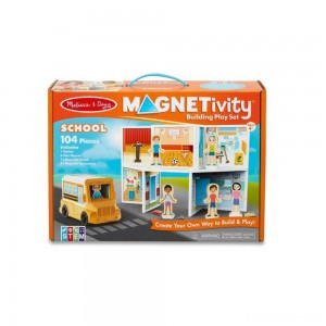 Melissa & Doug Magnetivity - School