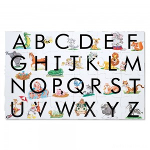 Melissa And Doug Learn The Alphabet Floor Puzzle 24pc