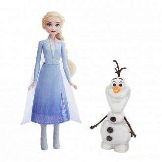 [BLACK FRIDAY] Disney Frozen 2 Talk and Glow Olaf and Elsa Dolls