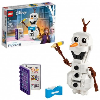 [BLACK FRIDAY] LEGO Disney Frozen 2 Olaf 41169 Olaf Snowman Toy Figure Building Kit 122pc