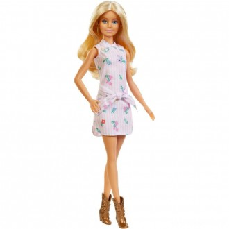 Barbie Fashionistas Doll #119 Pink Shirt Dress [Sale]