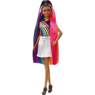 Barbie Rainbow Sparkle Hair Nikki Doll [Sale]