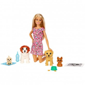 Barbie Doggy Daycare Doll & Pets [Sale]