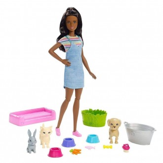 [BLACK FRIDAY] Barbie Play 'n' Wash Pets Nikki Doll and Playset