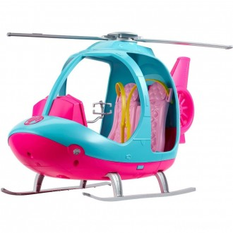 Barbie Travel Helicopter, toy vehicle playsets [Sale]