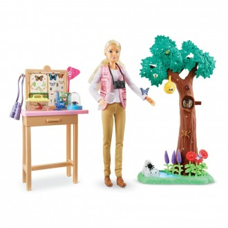 [BLACK FRIDAY] Barbie National Geographic Butterfly Scientist Playset