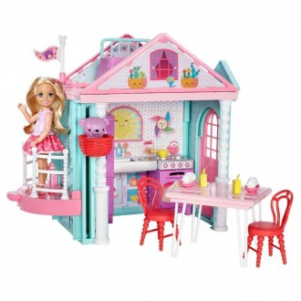 [BLACK FRIDAY] Barbie Club Chelsea Doll and Playhouse