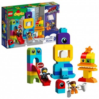 [BLACK FRIDAY] THE LEGO MOVIE 2 Emmet and Lucy's Visitors from the DUPLO 10895