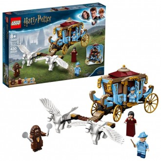 LEGO Harry Potter Beauxbatons' Carriage: Arrival at Hogwarts 75958 Toy Carriage Building Set 430pc [Sale]