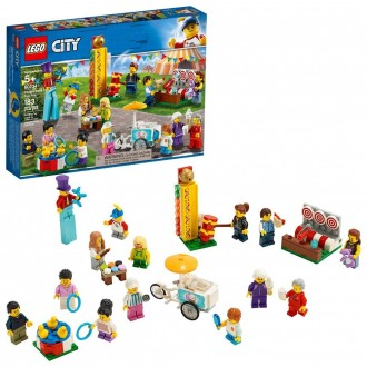 LEGO City People Pack - Fun Fair 60234 Toy Fair Building Set with Ice Cream Cart 183pc [Sale]
