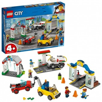LEGO City Garage Center 60232 Building Kit for Kids 4+ with Toy Vehicle 234pc [Sale]