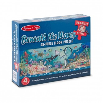 [BLACK FRIDAY] Melissa And Doug Search And Find Beneath The Waves Floor Puzzle 48pc