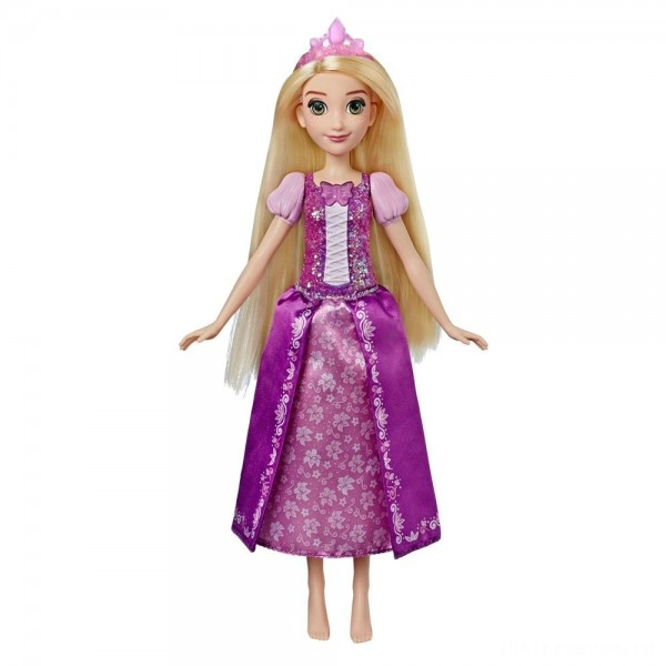 [BLACK FRIDAY] Disney Princess Shimmering Song Rapunzel, Singing Doll