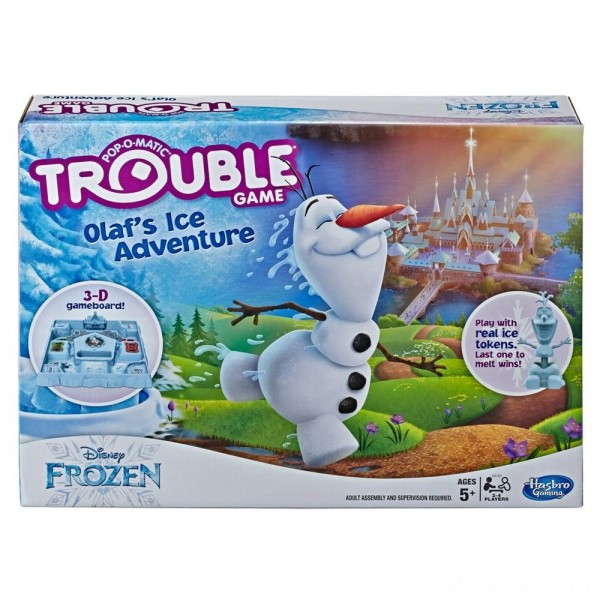 Trouble Disney Frozen Olaf's Ice Adventure Game [Sale]
