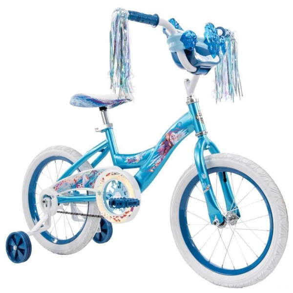 "Huffy Disney Frozen 2 16"" Bike - Blue, Girl's [Sale]"