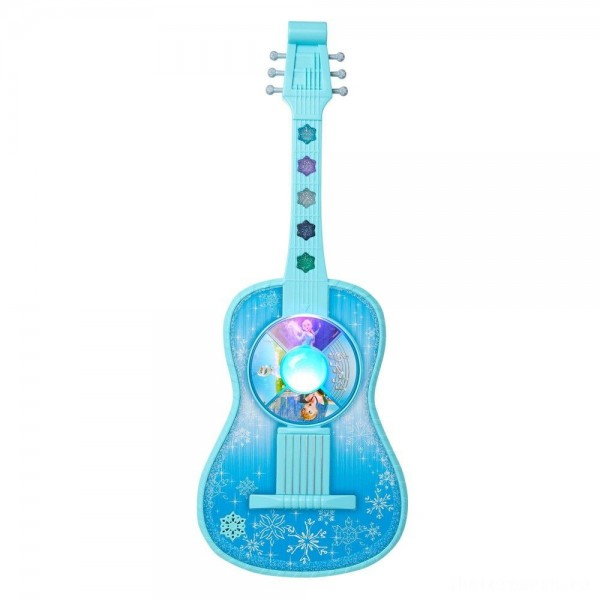 Disney Frozen Magic Touch Guitar with Lights and Sounds [Sale]