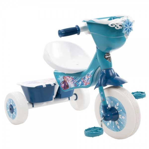 [BLACK FRIDAY] Huffy Disney Frozen Secret Storage Tricycle - Blue, Girl's