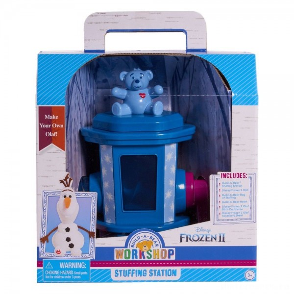 Build-A-Bear Workshop Disney Frozen Stuffing Station With Olaf Plush [Sale]