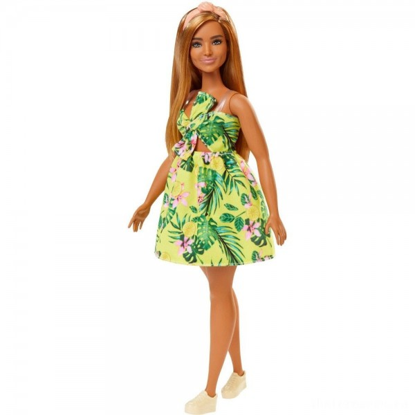 [BLACK FRIDAY] Barbie Fashionistas Doll #126 Jungle Dress