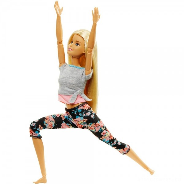 [BLACK FRIDAY] Barbie Made To Move Yoga Doll - Floral Pink