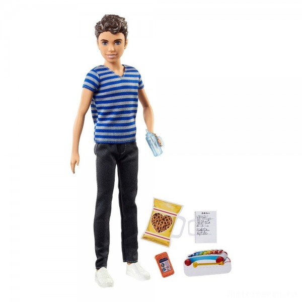 Barbie Skipper Babysitters Inc. Boy Sitter Doll and Accessory [Sale]