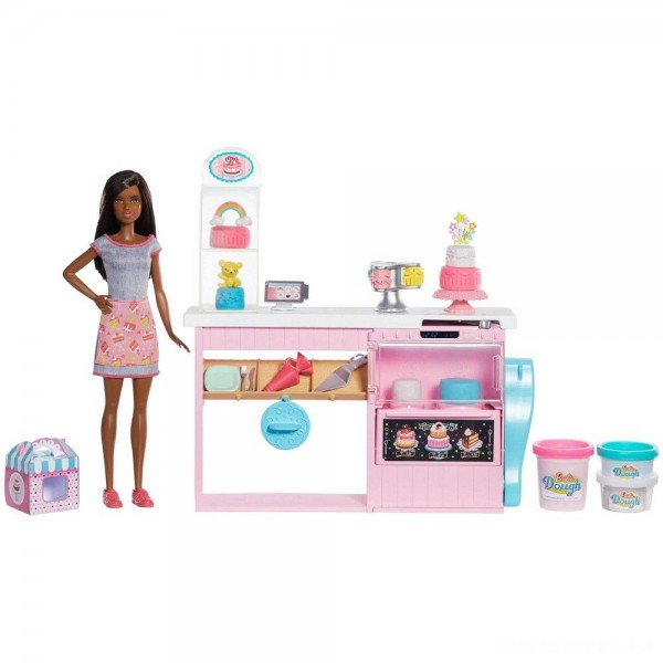 Barbie Cake Bakery Playset [Sale]