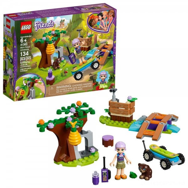 [BLACK FRIDAY] LEGO Friends Mia's Forest Adventure 41363