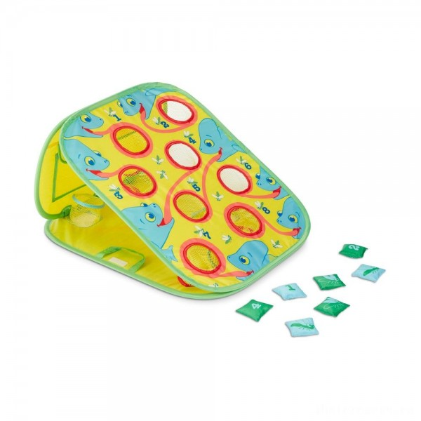 [BLACK FRIDAY] Melissa & Doug Sunny Patch Camo Chameleon Bean Bag Toss Action Game